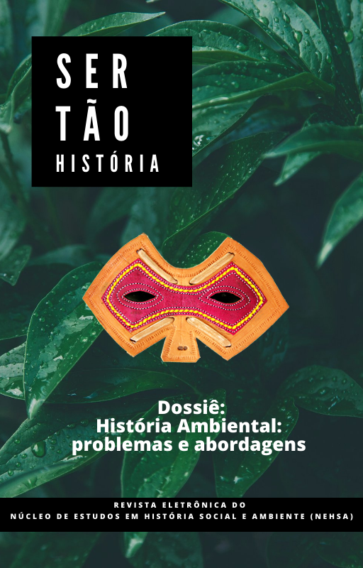 Capa da chamada Dossiê História Ambiental