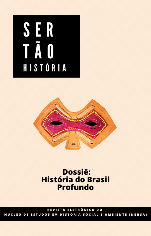 Capa chamada História do Brasil Profundo
